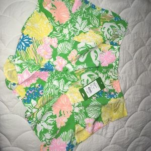 NWT Lilly Pulitzer Folly Skort Hibiscus Stroll 6